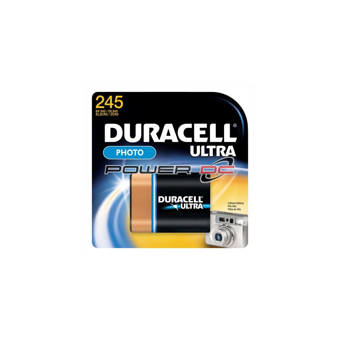 DURACELL XL 245 6V LITHIUM