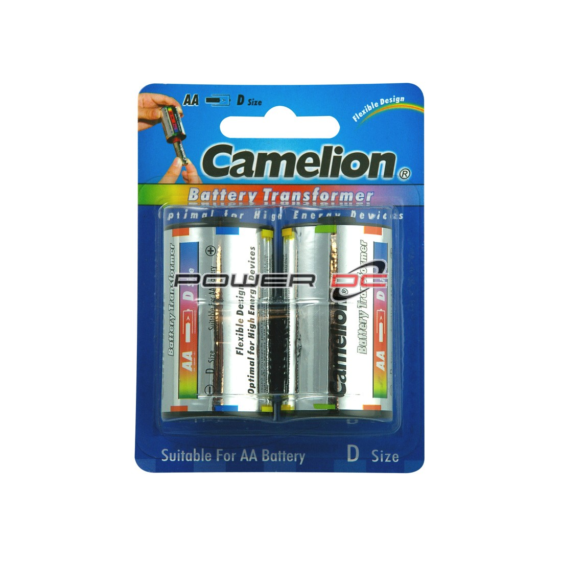 CAMELION D BATTERY ADAPTOR