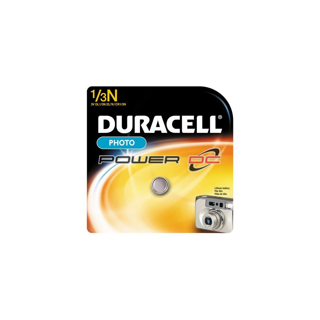 DURACELL XL 1/3 N 3V LITHIUM