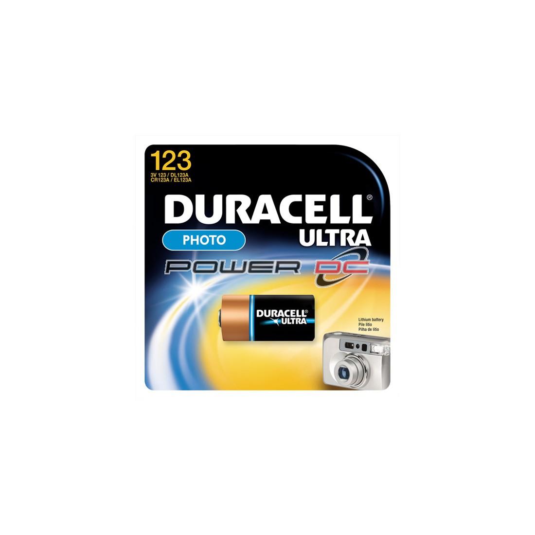 DURACELL XL 123A  3V LITHIUM