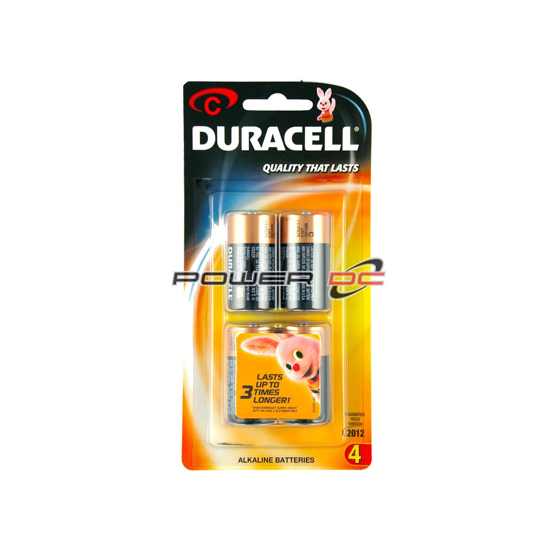 DURACELL C BP4