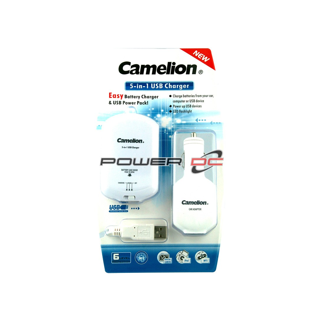 CAMELION 5-IN-1 POWER PACK