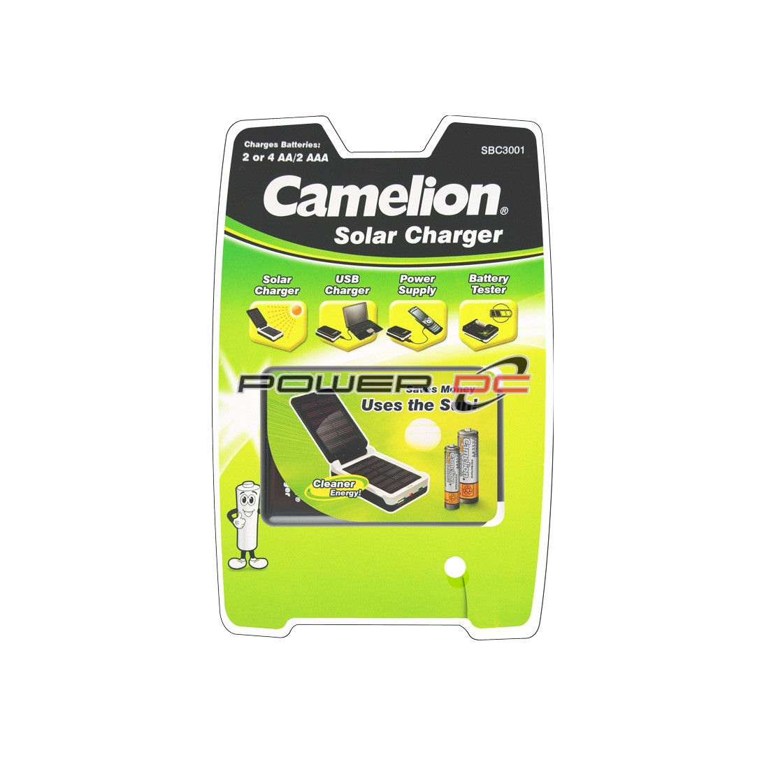 CAMELION SOLAR BATTERY CHARGER