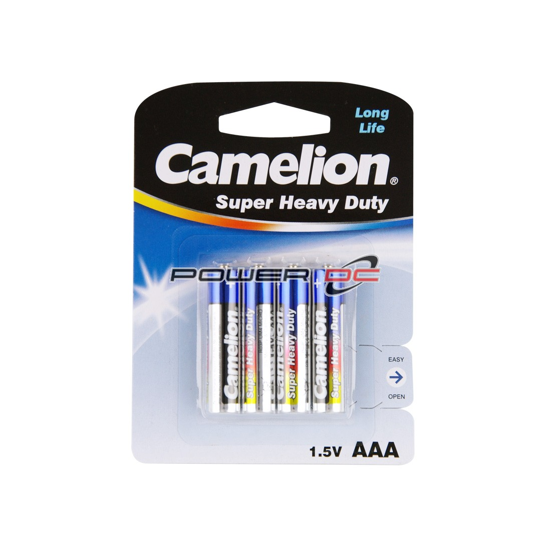 CAMELION SUPER HEAVY DUTY AAA BP4