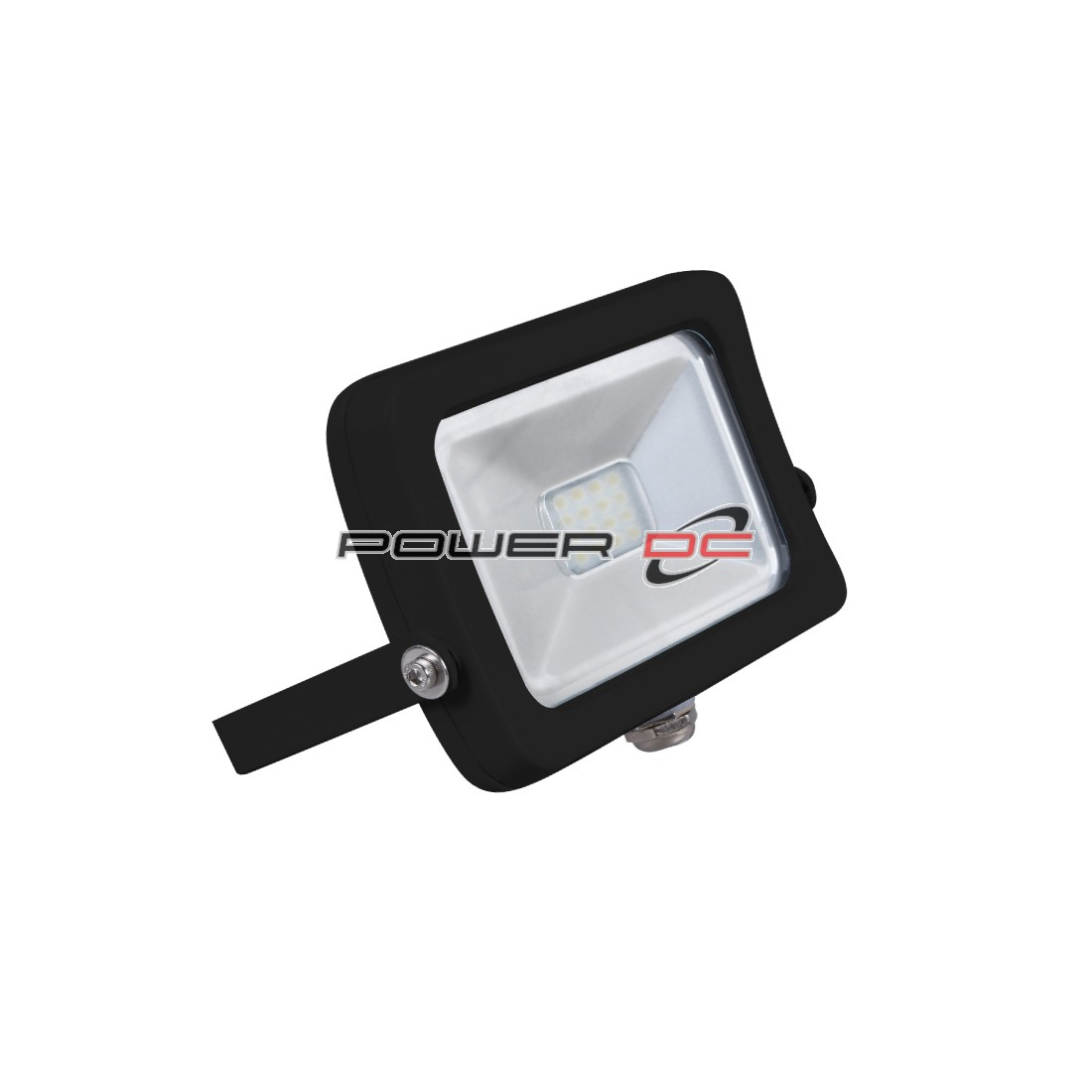 ULTRACHARGE WALL MOUNT LED FLOOD LIGHT 10WATT BLACK