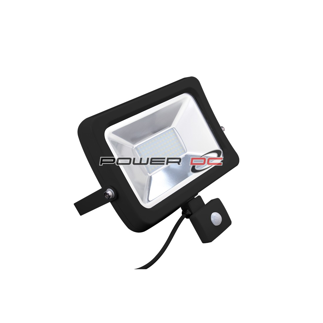 ULTRACHARGE SENSOR LED FLOOD LIGHT 20WATT - BLACK