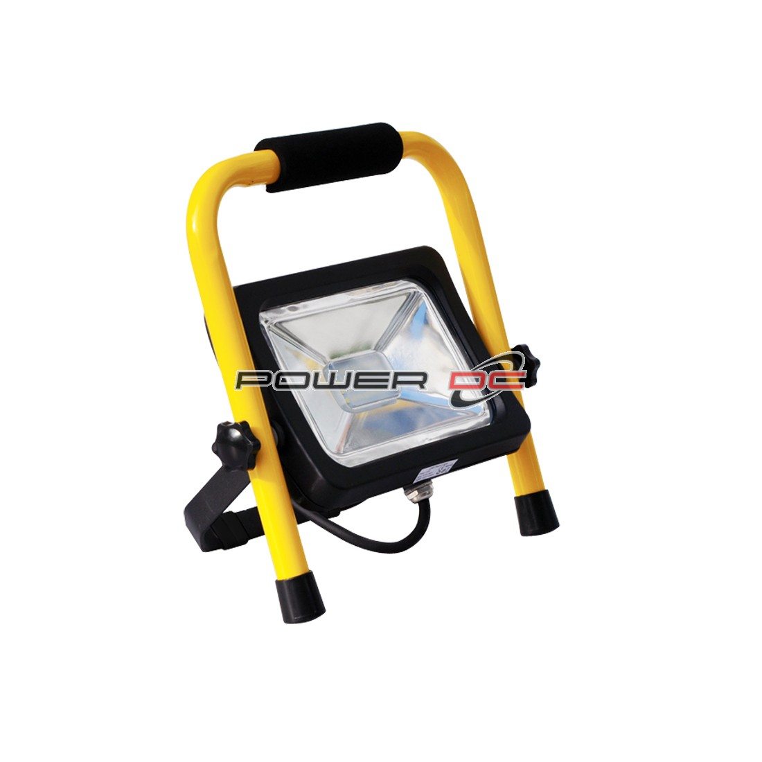 ULTRACHARGE LED FLOOD LIGHT 20WATT STAND - YELLOW