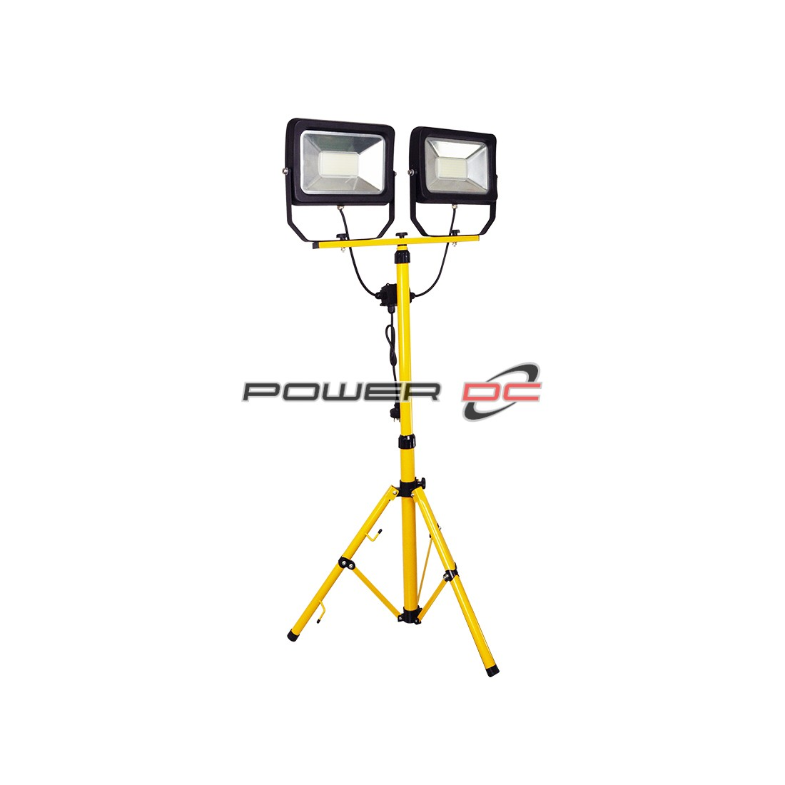 ULTRACHARGE 2 x 30W WORK LIGHT WITH 1.6M TRIPOD - YELLOW