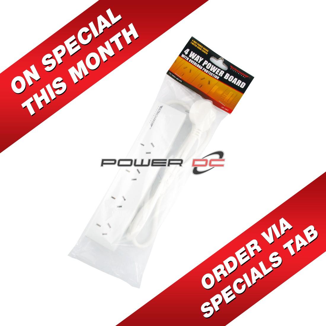 ULTRACHARGE POWER BOARD 4 WAY