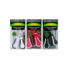 DURACELL EARPHONES WITH MICROPHONE ASSORTED COLOURS 12PK