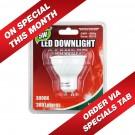 ULTRACHARGE LED DOWNLIGHT 5WATT 240V 3000 - GU10 38deg